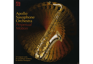 Apollo Saxophone Orchestra - Perpetual Motion - (CD)