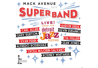 Mack Avenue Superban - Live At Detroit Jazz Festival 2012 - (CD)