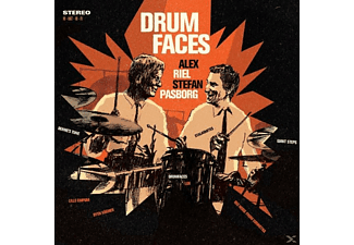 Riel, Alex / Pasborg, Stefan - Drumfaces - (CD)