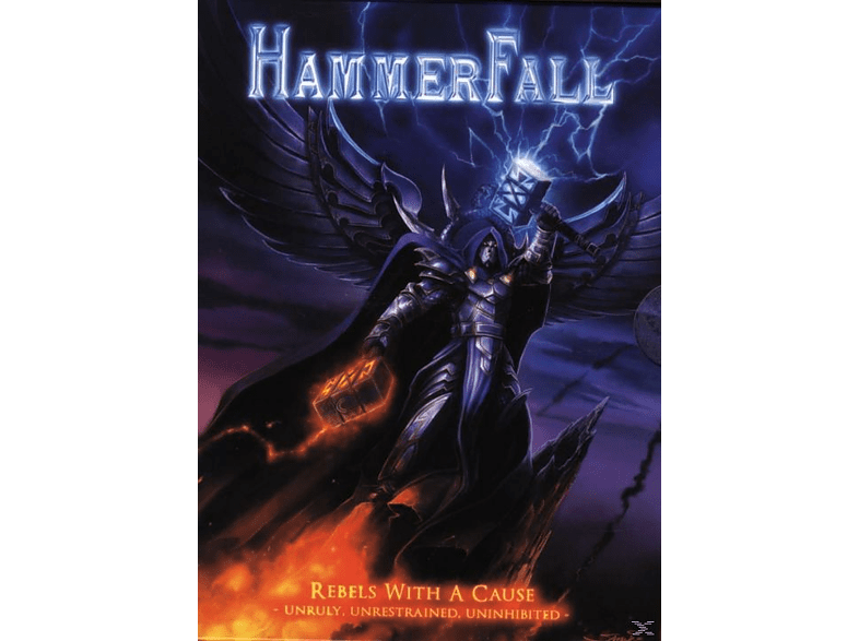 Hammerfall - Rebels With A Cause - Unruly, Unrestrained, Uninhibited [DVD + CD]