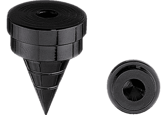 OEHLBACH 55041 Spikes S 2000, Absorber, Schwarz