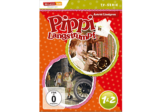 1&2 - Pippi Langstrumpf - TV Serie - (DVD)