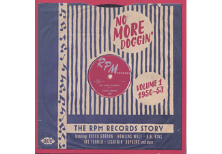 VARIOUS - No More Doggin'-Rpm Records Story Vol.1 1950-53 - (CD)