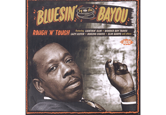 VARIOUS - Bluesin' By The Bayou-Rough 'n' Tough - (CD)