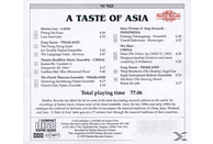 VARIOUS, Wu/+ Molam Lao/fong Naam/man - A Taste Of Asia [CD]