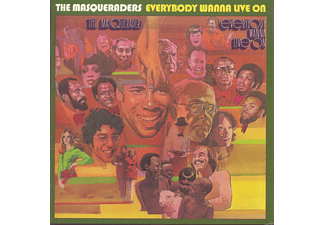 The Masqueraders - Everybody Wanna Live On [CD]