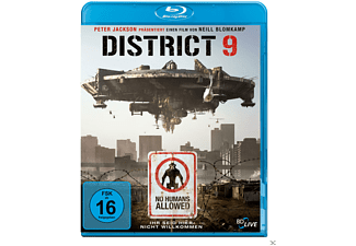 District 9 Science Fiction Blu-ray