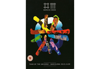 Depeche Mode - TOUR OF THE UNIVERSE - BARCELONA 20/21:11:09 - (DVD + CD)