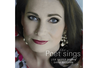 David Wickham, Lisa Harper-Brown - The Poet Sings - (CD)