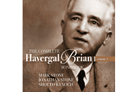 Jonathan Stone, Mark Stone, Sholto Kynoch - The Complete Havergal Brian Songbook Vol.1 [CD]