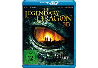 The Legendary Dragon 3D - (3D Blu-ray)