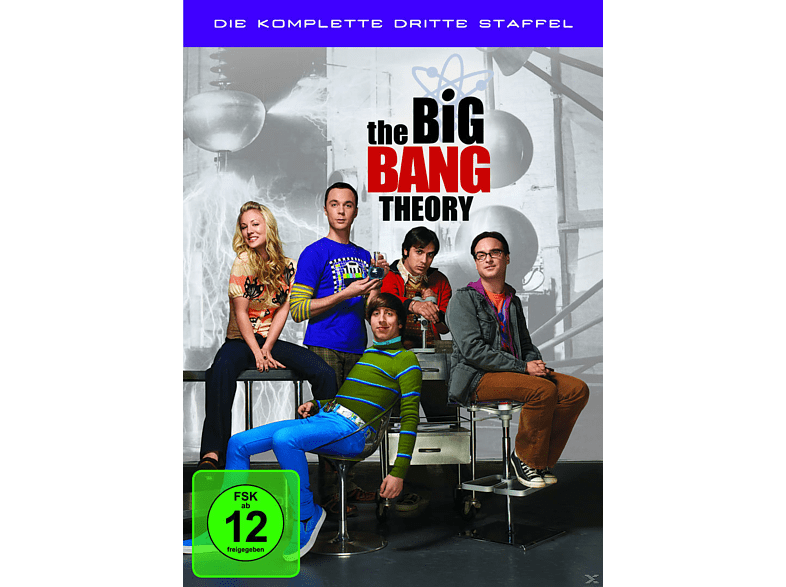 The Big Bang Theory - Staffel 3 [DVD]
