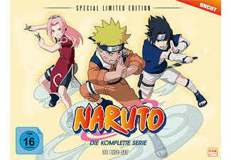 Naruto - Special Limited Edition (Gesamtedition) - (DVD)