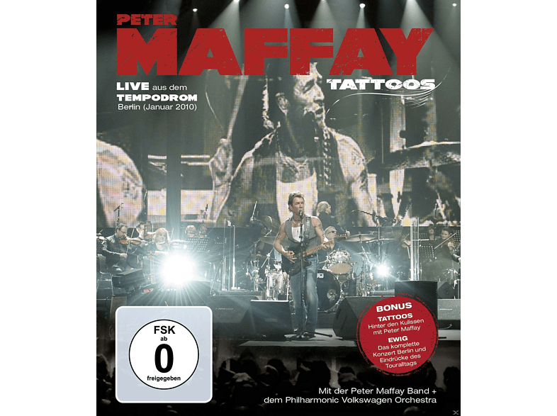 Peter Maffay - Peter Maffay - Tattoos (Live) [Blu-ray]