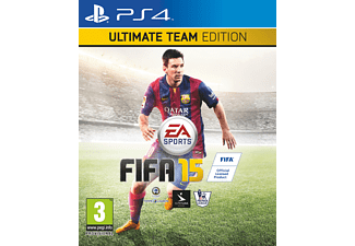 FIFA 15 Ultimate Team Edition + SteelBook  PS4