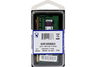 KINGSTON KVR13S9S8 CL9 4GB 1333 MHz DDR3 Notebook Ram