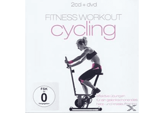 VARIOUS - Fitness Workout Cycling - (CD + DVD)