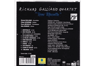 Richard Galliano Quartet - New Musette - (CD)