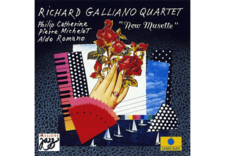 Richard Quartet Galliano - New Musette - (CD)
