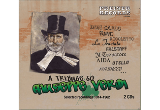 VARIOUS - A Tribute Verdi - (CD)