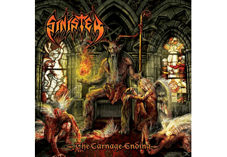 Sinister - The Carnage Ending - (CD)