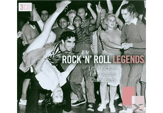 VARIOUS - Rock'n'roll Legends - (CD)
