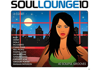 VARIOUS - Soul Lounge 10 - 40 Soulful Grooves - (CD)
