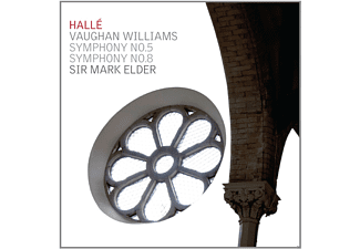 Sir Mark Elder, The Halle Orchestra - Symphony No. 5 & No. 8 - (CD)