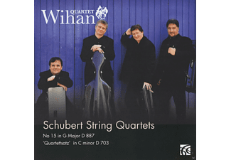 Wihan Quartet - Quartets In G Major D 887 & C minor D 703 - (CD)