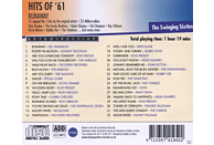 VARIOUS - Runaway Hits Of '61 [CD]