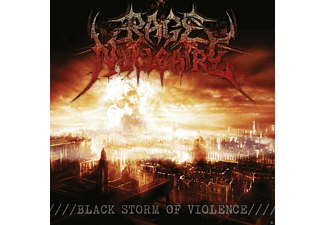Rage Nucleaire - Black Storm Of Violence - (CD)