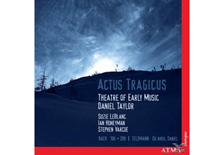 VARIOUS, Taylor/Theatre Of Early Music - Actus Tragicus - (CD)