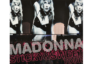 Madonna - Sticky & Sweet Tour - (CD + DVD Video)