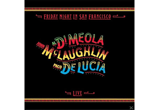 Paco de Lucía / Al Di Meola / John McLaughlin - Live! Friday Night In San Francisco CD