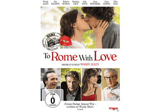 To Rome with Love - (DVD)