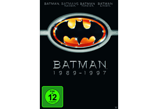 Batman 1-4 - (DVD)