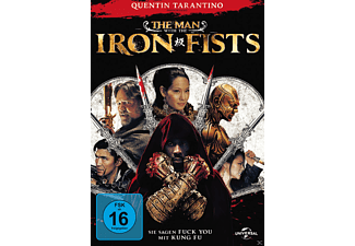 The Man with the Iron Fists Action DVD