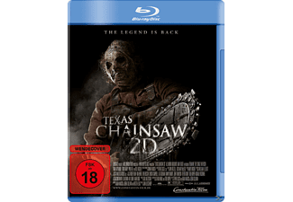 Texas Chainsaw 2D Horror Blu-ray