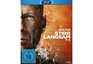 Stirb langsam 1-5 (Legacy Collection Box) Action Blu-ray
