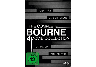 Bourne Collection 1-4 Box Action DVD