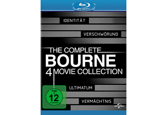 Bourne Collection 1-4 Box Action Blu-ray