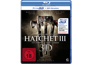 Hatchet III (3D) - (3D Blu-ray)
