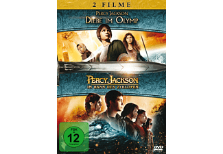 Percy Jackson 1+2 Box Action DVD