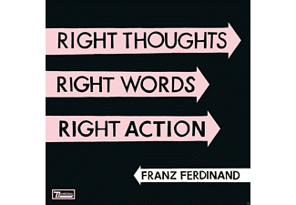 Franz Ferdinand - Right Thoughts, Right Words, Right Action - (CD)