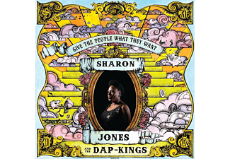 Sharon Jones;The Dap - Kings - Give The People What They Want - (CD)