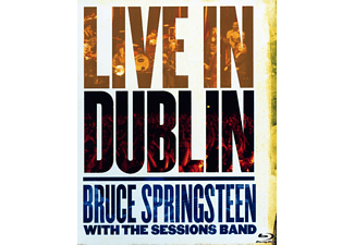 Bruce Springsteen, The  Session Band - LIVE IN DUBLIN - (Blu-ray)