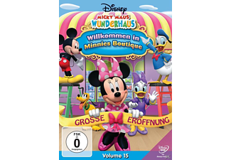 Disney Junior: Micky Maus Wunderhaus - Willkommen In Minnies Boutique Animation/Zeichentrick DVD