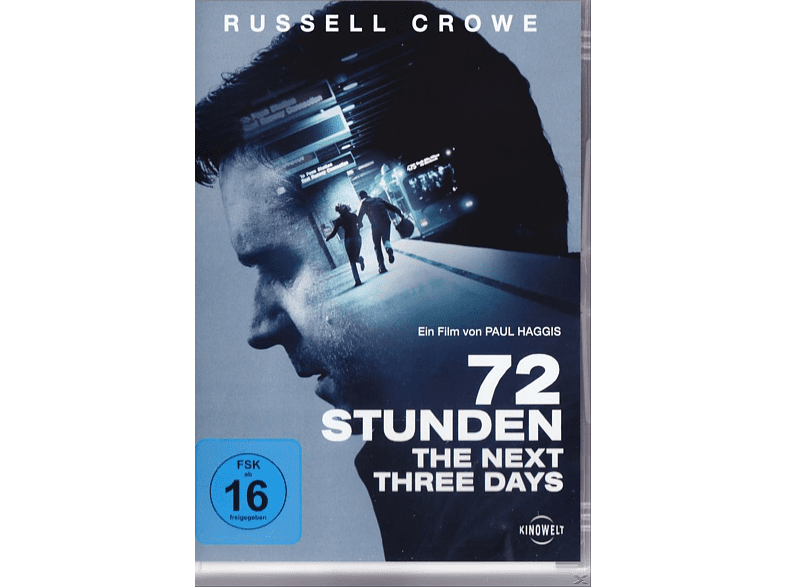 72 Stunden - The Next Three Days [DVD]