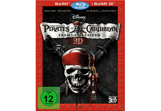 Pirates of the Caribbean - Fremde Gezeiten Adventure 3D BD&2D BD, Blu-Ray
