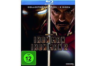 Iron Man + Iron Man 2 - Collector's Edition (Softbox) - (Blu-ray)